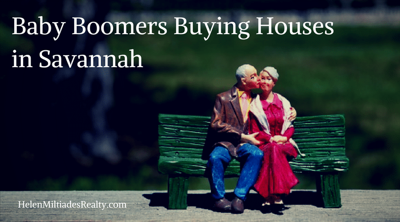 Baby Boomers Buying Houses in Savannah