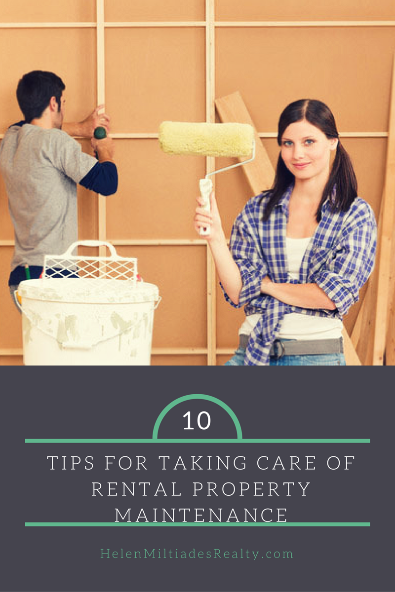 Tips for Taking Care of Rental Property Maintenance