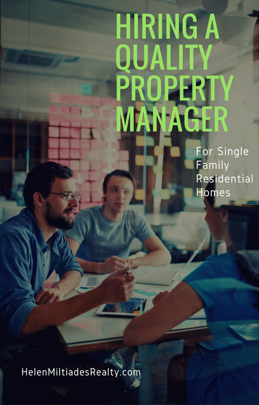 Hiring a Quality Property Manager for Single-Family Rentals