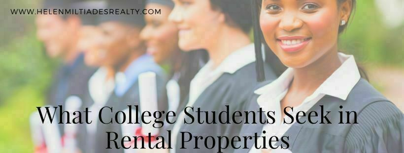 What College Students Seek in Rental Properties